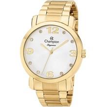 Relógio Champion Elegance Feminino Dourado Prata CN26279H