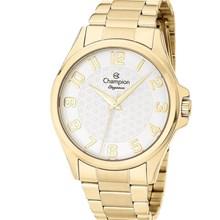 Relógio Champion Elegance Feminino Dourado Prata CN26377H