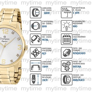 Relógio Champion Feminino CN25663H