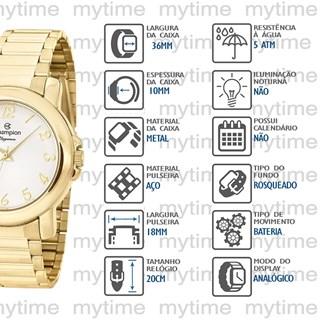 Relógio Champion Feminino CN26626H