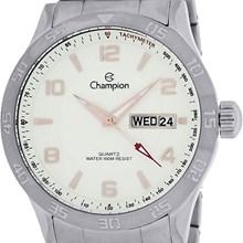 Relógio Champion Masculino Prata Branco CA30534Z