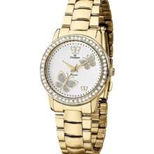 Relógio Champion Passion Feminino Dourado Branco CH24115H