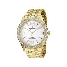 Relógio Champion Passion Feminino Dourado Branco CH24624H