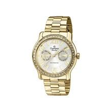 Relógio Champion Passion Feminino Dourado Branco CH38468H