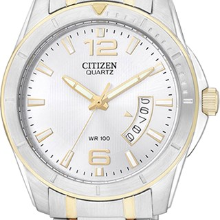 Relógio Citizen Classic Masculino Misto Cinza BI0974-52A