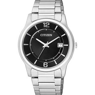 Relógio Citizen Classic Masculino Prata Preto BD0020-54E