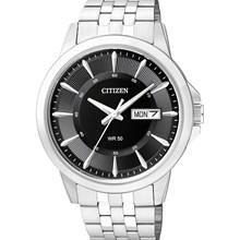 Relógio Citizen Classic Masculino Prata Preto BF2011-51E