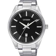 Relógio Citizen Classic Masculino Prata Preto BI1030-53E