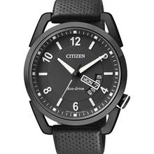 Relógio Citizen Eco-Drive Masculino Preto AW0015-08E