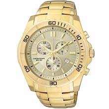 Relógio Citizen Masculino Cronógrafo Dourado AN7102-54P