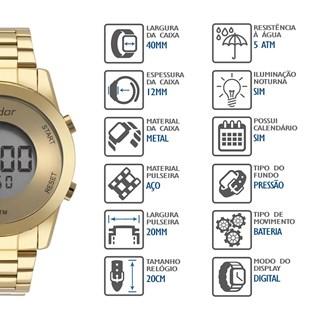Relógio Condor Feminino COBJ3279AA/4D