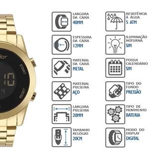 Relógio Condor Feminino COBJ3279AA/4P
