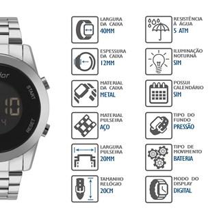 Relógio Condor Feminino COBJ3279AB/3P