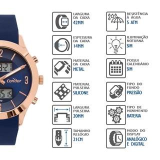 Relógio Condor Feminino COBJ3365AAK/4A