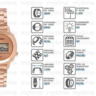 Relógio Condor Feminino COJH512AJ/4J