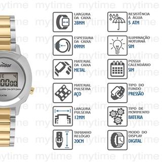 Relógio Condor Feminino COJH512AK/5K