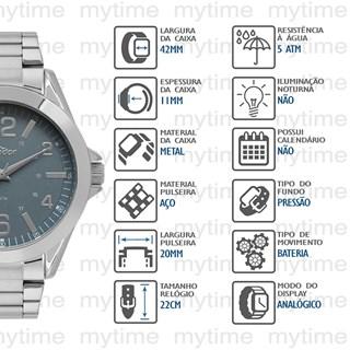 Relógio Condor Masculino CO2035MPN/3F
