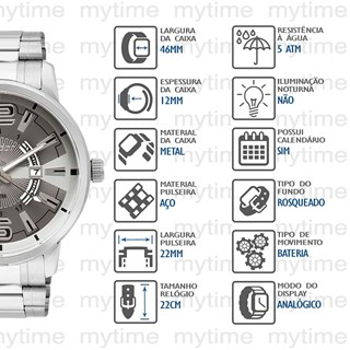 Relógio Condor Masculino CO2115YF/3C