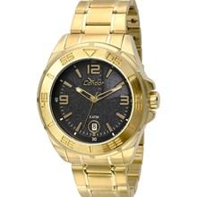 Relógio Condor Masculino Dourado Preto CO2415AN/4P