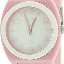 Relógio Cosmos Feminino Rosa branco OS48676Y