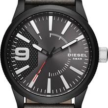 Relógio Diesel Masculino couro Kit Pulseira DZ1776