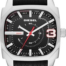 Relógio Diesel Shifter Masculino Couro Preto DZ1652