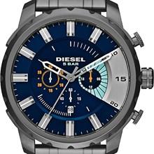 Relógio Diesel Stronghold Masculino Cronógrafo Cinza Azul DZ4358