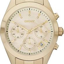 Relógio Dkny Feminino Cronógrafo Dourado NY8514