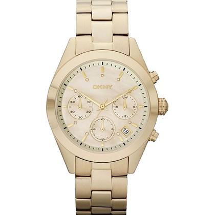 e0d63193d7a Relógio Dkny Feminino Cronógrafo Dourado NY8514 - My Time