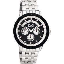 Relógio Dolce Gabbana Masculino Prata Preto 54111GPDSPA1