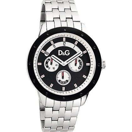 e450091747ddf Relógio Dolce Gabbana Masculino Prata Preto 54111GPDSPA1 - My Time