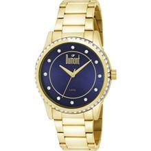 Relógio Dumont Feminino Dourado Azul DU2035LQC/4A
