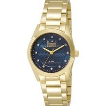 Relógio Dumont Feminino Dourado Azul DU2036LRR/4A