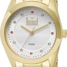 Relógio Dumont Feminino Dourado Branco DU2036LRR/4K