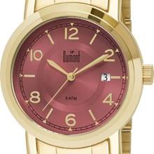 Relógio Dumont Feminino Dourado Rosa DU2115DN/4Q