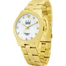 Relógio Dumont Feminino Dourado SX85258M