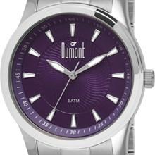 Relógio Dumont Feminino Prata Lilás DU2036LRU/1N