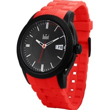 Relógio Dumont Masculino Preto Vermelho SC50054S