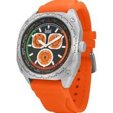 Relógio Dumont Masculino Quadrado Laranja SZ40062P