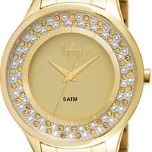 Relógio Dumont Splendor Feminino Dourado DU2035LMK/4X