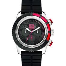 Relógio Ecko Unltd Masculino Cronógrafo Preto Vermelho E16525G1