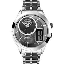 Relógio Ecko Unltd Masculino Prata Preto E17524G1