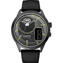 Relógio Ecko Unltd Masculino Preto Amarelo E14545G2