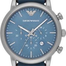 8ef75bc7dde Relógio Emporio Armani Masculino Couro Azul AR1969 Relógio Emporio Armani  Masculino Couro Azul AR1969