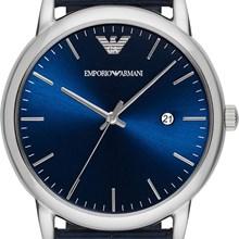 Relógio Emporio Armani Masculino Couro Azul AR2501
