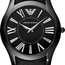 7149a88d770 Relógio Emporio Armani Masculino Couro Preto AR2059 Relógio Emporio Armani  Masculino Couro Preto AR2059