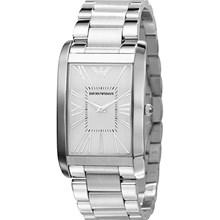 Relógio Emporio Armani Masculino Prata AR2036