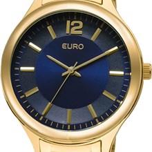 Relógio Euro Feminino Dourado Azul EU2035LQY/4A