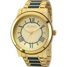 Relógio Euro Feminino Dourado Azul EU2035YEI/5A