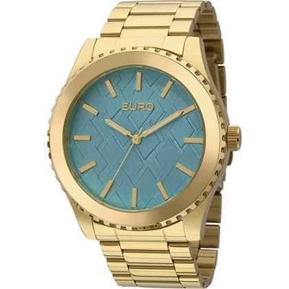 Relógio Euro Feminino Dourado Azul EU2036YDZ/4A
